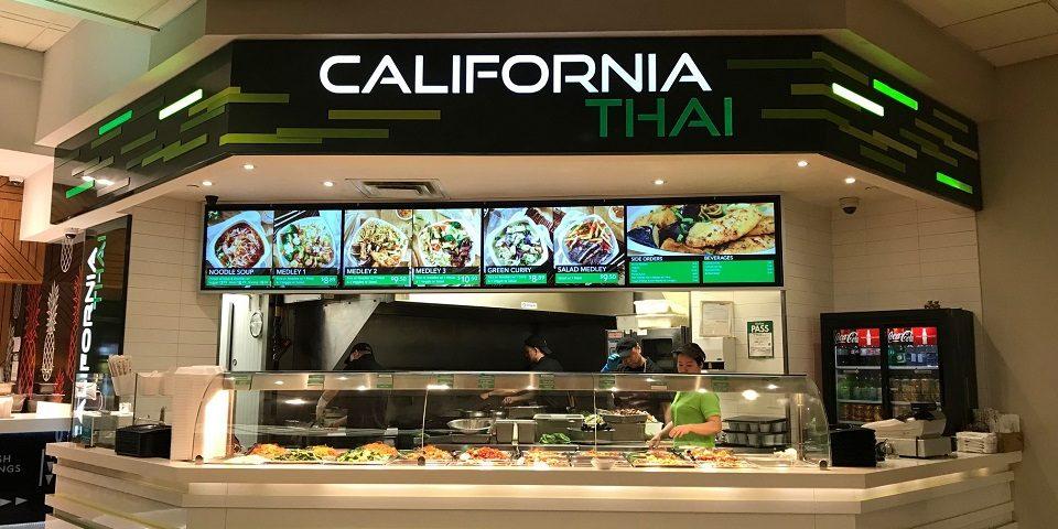 California Thai - Metro Centre - Toronto, Ontario - Digital Menu Board - Digital Menu Board - Video Wall - Digital Signage - Reliable - Affordable - Flexible